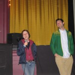 Kelly Reichardt and Jon Raymond at the 2005 PDX Film Fest