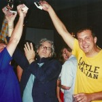 Jason Livingston, Craig Baldwin, and Rich Bott (Animal Charm) at the '01 PP Invitational