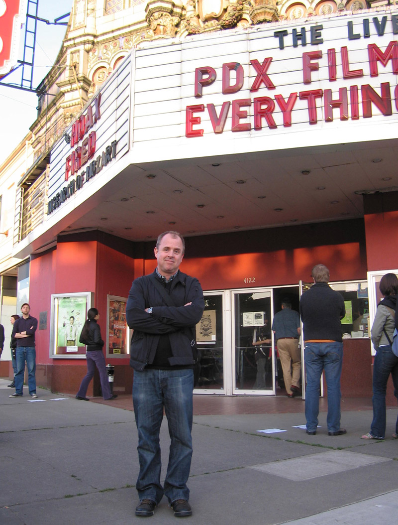 Gary Hustwit at the 2007 PDX Film Festival