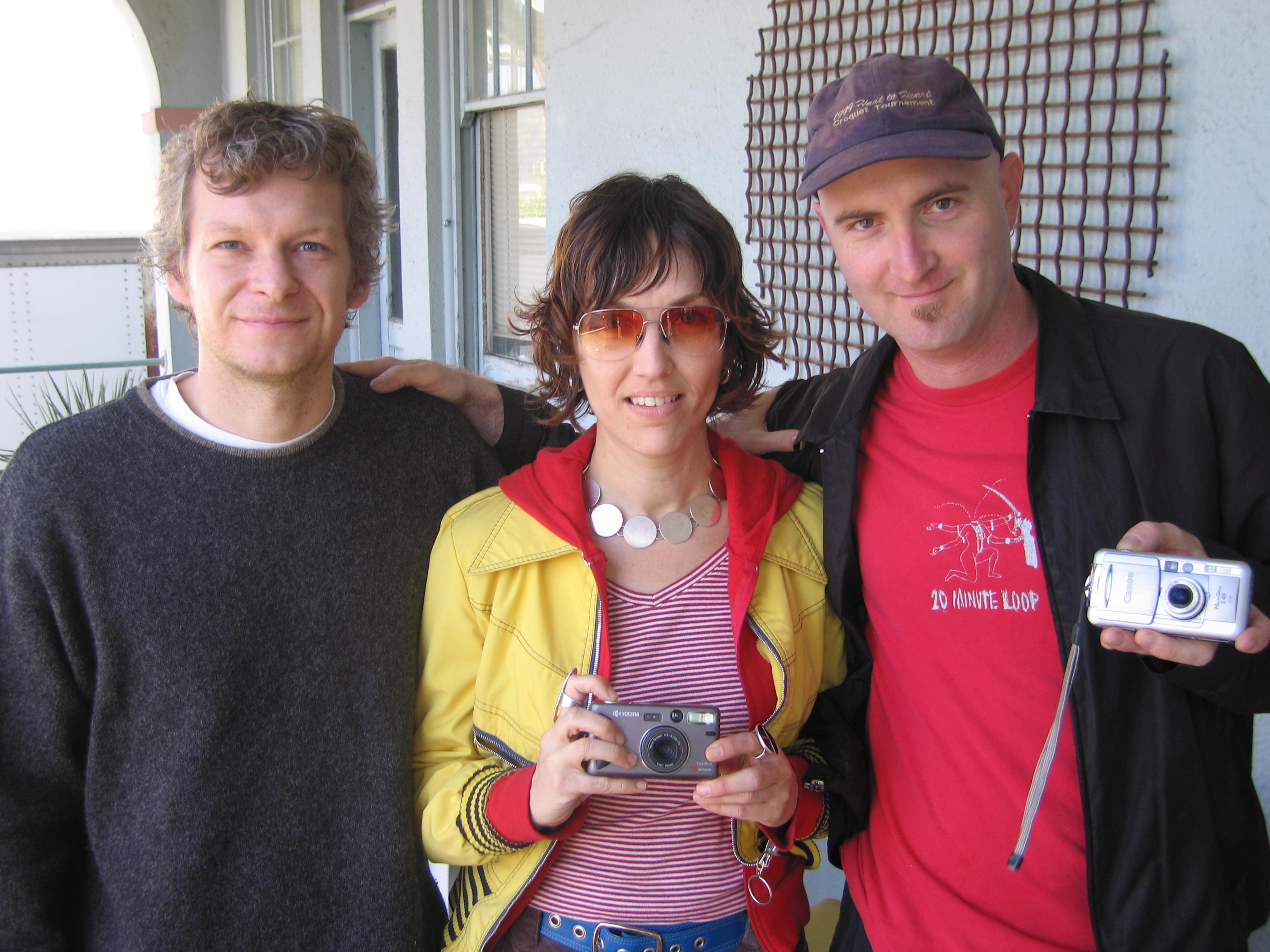 Garrett Scott, Deborah Stratman, Bryan Boyce