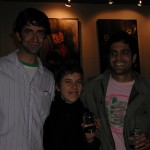 Matt McCormick, Elisabeth Subrin, and Sam Green at the 2002 PDX Film Festival